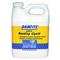 Damtite 05160 Acrylic Bonding Additive, 1 Quart (Concrete Bonding Additive)
