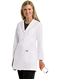 Grey's Anatomy Lab Coat for Women – Professional Full Length, Long Sleeve