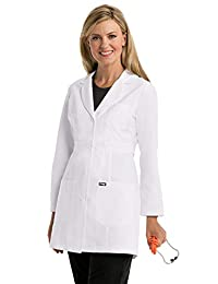 "Barco Grey's Anatomy 4481 Women's 3-Pocket Fitted 34"" Lab Coat"