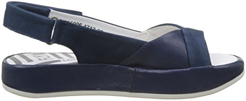 Blue Women's Sling Bari855fly London Sandals Back Blue Fly 5Yx8ZqRww