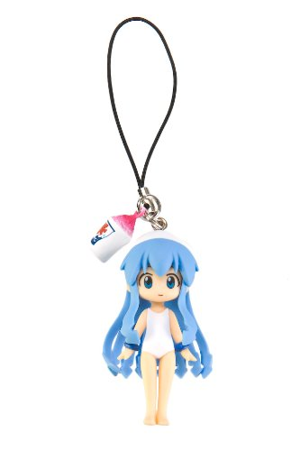 Shinryaku!? Ika Musume Squid Girl Bathing Suit Capsule Q Fraulein Cellphone Strap Figure