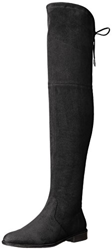 Marc Fisher Women's Mfhumor2 Riding Boot, Black, 7.5 M US