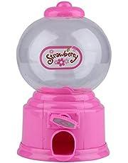 Candybush Máquina dispensadora de Gumball, Mini máquina expendedora de Burbujas de Caramelo, Dispensador de