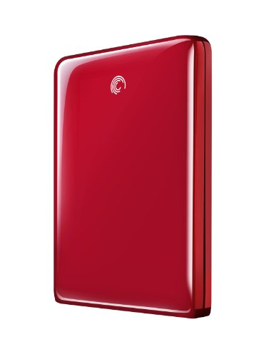 Seagate FreeAgent GoFlex 500 GB USB 2.0 Ultra-Portable External Hard Drive STAA500103 (Red)