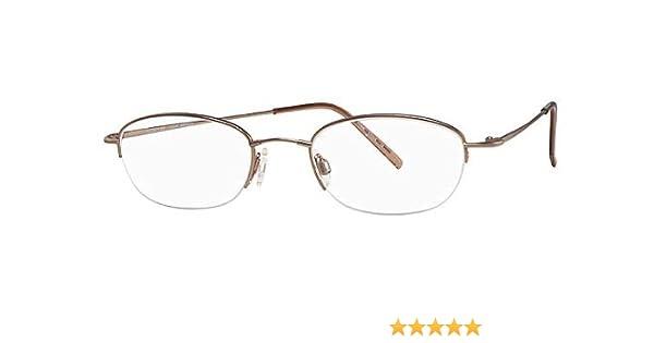 049ede5a8ce Flexon Flexon 618 Eyeglasses 905 Light Bronze Demo 51 20 140 at Amazon  Men s Clothing store  Prescription Eyewear Frames