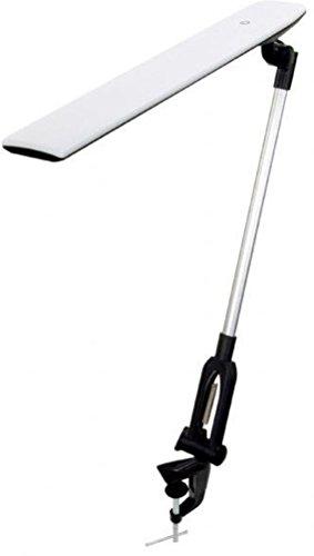 Alvin, LED2-W, Montauk, LED Clamp-On Dimmable Light Lamp – White