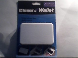 Clever Wallet (White)
