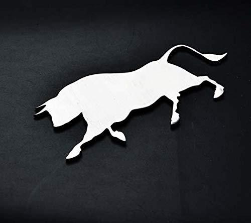Bull Toro Stainless Metal Car Truck Motorcycle Badge Emblem