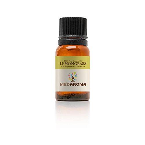 MEDAROMA 100% Pure Therapeutic-grade Lemongrass Essential Oil 10ml...