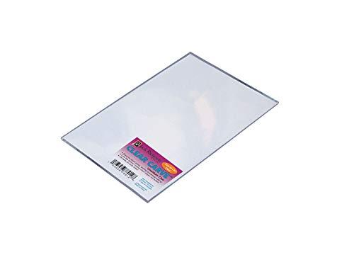 """Jack Richeson 1465590 Flexible Linoleum Carve, 5"""" x 7"""" Size, Clear"""