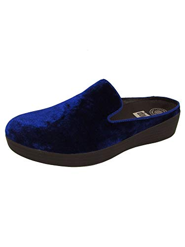 Midnight Navy Velvet Slip Womens FitFlop on Superskate YxXzpTwqR