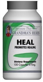 Heal - All Natural Herbal Vitamins and Minerals that Help Heal