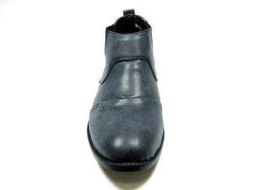 Zapatillas Clásicas Para Hombre Mb-11 Negras Desgastadas Slip On Chelsea Botas Negras