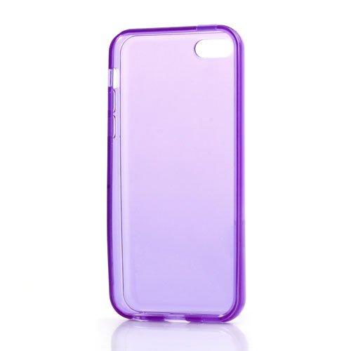 iProtect soft TPU Gel Schutzhülle iPhone 5C Case lila