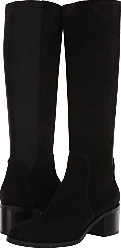 Aquatalia Women's Jordan Black Suede/Elastic 7.5 B US B (M)