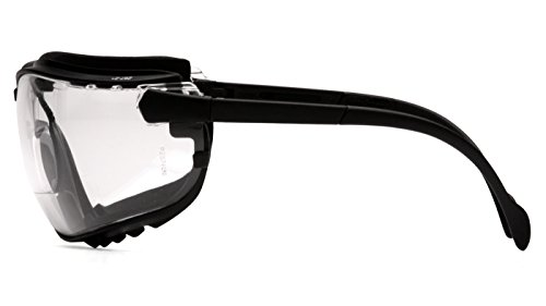 Clear 2 Diopte Capacity Volume Glass Standard Uvex S3992X Stealth Reader Style Protective Goggle