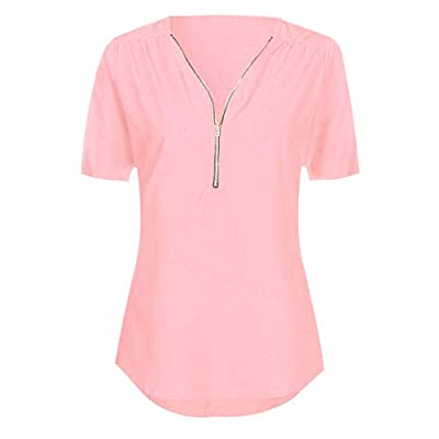 Han Shi-Womens Clothes Womens Tunic Tops, Solid Blouse Loose T-Shirt Han Shi: Clothing