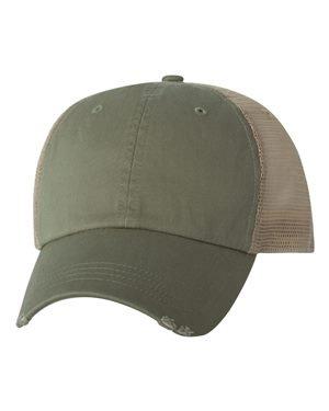 Mega Cap 6887 - Organic Cotton/Mesh Cap -