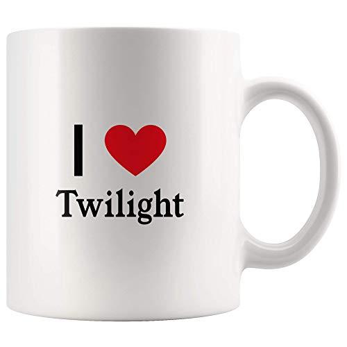 (I Love Twilight Tea and Coffee Mug: 11oz Tea and Coffee Mug Merchandise For Fans Of Twilight Movie! )
