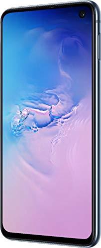 Samsung Galaxy S10e, 256GB, Prism Blue - Fully Unlocked (Renewed)