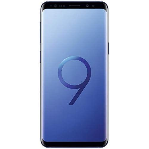 Samsung Galaxy S9 Unlocked Smartphone – Coral Blue – (Renewed)