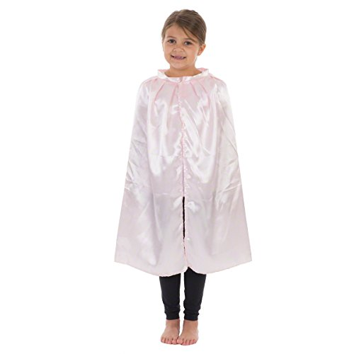 Charlie Crow Pink Satin or Cloak Costume for Kids. 3-8 Years. ()