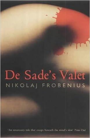 Book De Sade's Valet