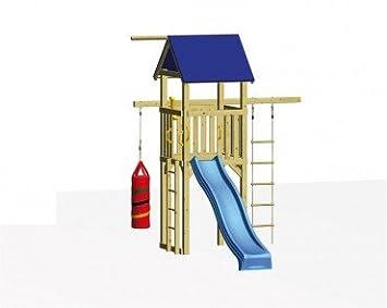 Klettergerüst Bodenanker : Kinderspielanlage mit spielturm schaukel klettergerüst und