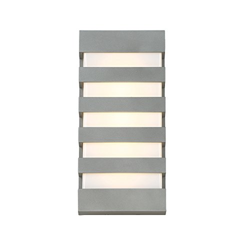 WAC Lighting WS-W23614-GH Folsom LED Outdoor Wall Light, 14