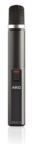 AKG Pro Audio C1000s Condenser Microphone, Multipattern by AKG Pro Audio
