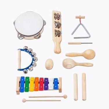 ZOUNDHOUSE Percussion Set, 8-teilig / FSC-zertifiziert