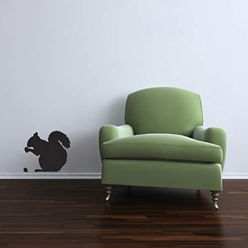Squirrel Eating an Acorn Wall Decal - 12