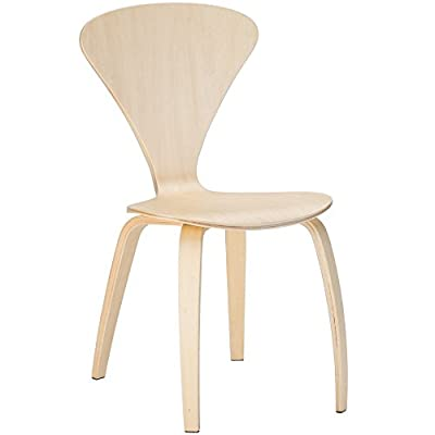 Poly and Bark Sofia Side Chair (Set of 2), Natural - Classic Mid Century design Durable plywood Seat Sturdy plywood legs - kitchen-dining-room-furniture, kitchen-dining-room, kitchen-dining-room-chairs - 3180ABbWtgL. SS400  -