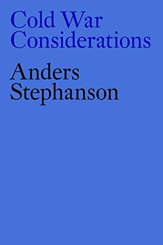 Book cover from Cold War Considerationsby Anders Stephanson