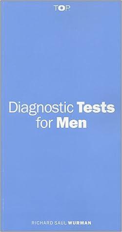 Diagnostic Tests for Men