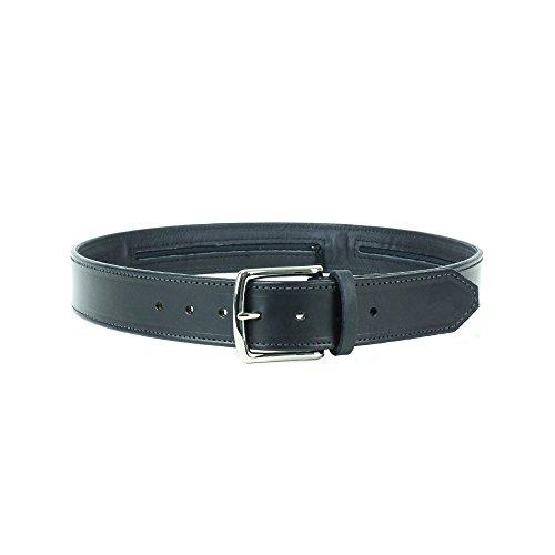 Spy, Escape & Evasion Harness Leather,Solid Brass Buckle, 3 Hidden Pouches Gun Belt, Waist Size: S 34-36, Belt Width: 1.5