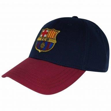 Amazon.com   FC Barcelona Crest Baseball Cap   Sports   Outdoors 5da96aad5f0