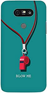 Stylizedd LG G5 Premium Slim Snap case cover Matte Finish - Blow Me