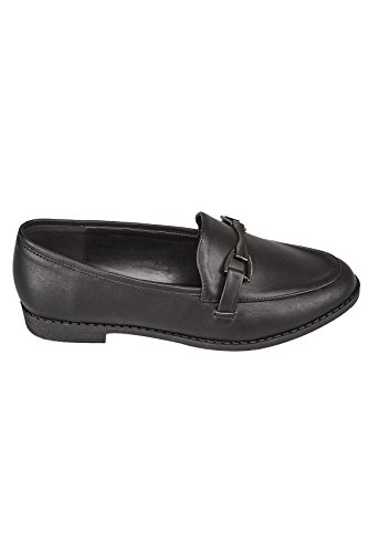 Eee Yours On Clothing Slip Fit Wide In Black Fit Loafers Women's 8BraxSw87q