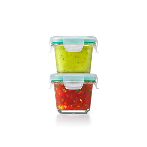 OXO 11179400 Good Grips Smart Seal Leakproof Glass Food Storage Container Piece