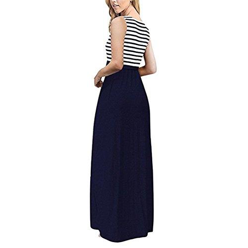 753d3904cd3a Donna Elegante ✿vestito Lungo Donna Elegante Elegante ✿vestito Lungo Lungo  Donna ✿vestito KJcl1F