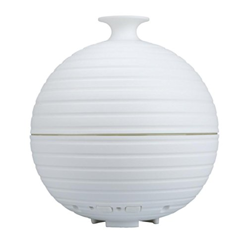 Price comparison product image Kanzd White LED Color Ultrasonic Air Humidifier Oil Aroma Diffuser Purifier Steam Mist For Bedroom (White)