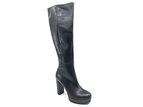 Alto Donna Pelle Black In Stivale Vic 7078 Nera Tacco Matie' UqCvwUTpcP