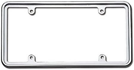 Cruiser Accessories 30630 Perimeter License Plate Frame Chrome