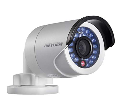 Hikvision DS-2CD2032-I Fixed Focal Lens Mini Bullet Network Camera 3MP, Full HD 2048X1536, 4mm Lens, True Day / Night, PoE / 12VDC, IR LEDs Up to 30 Meters, IP66 Weatherproof, H.264 / MJPEG, 3D DNR