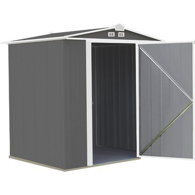 Arrow EZEE Shed Low Gable Steel Storage Shed