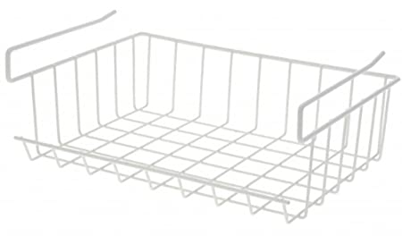 Schrankkorb Zum Einhangen Metall Weiss Regalkorb
