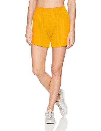 Augusta Sportswear Women's Wicking Mesh Shorts, X-Large, Gold Augusta Sportswear Mesh Shorts