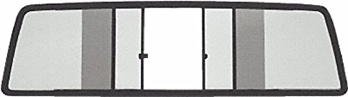 C.R. LAURENCE TSW325S CRL Duo-Vent Four Panel Slider with Solar Glass for 1986-1993 All Mazda Cabs