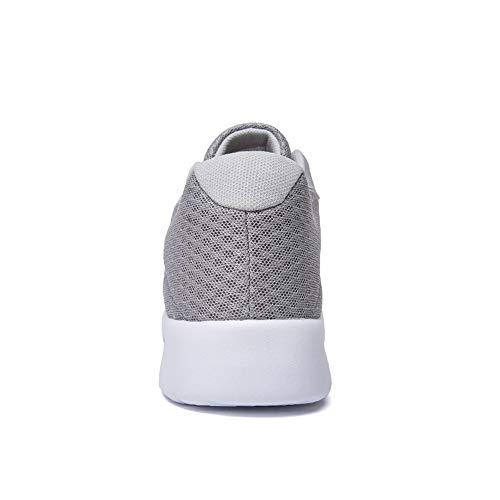Air Blanc Chaussures Fobini Course Sport Gris Plein Pour Occasionnels De Hommes Sports CqdFPzwq4